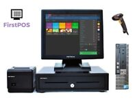 Full Touchscreen EPOS POS Cash Register Till System for Retail and Hospitality (Dell Optiplex)