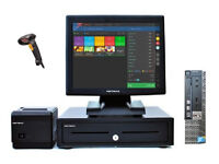 """17"""" Touchscreen EPOS POS Cash Register Till System for Retail and Hospitality (Dell Optiplex)"""
