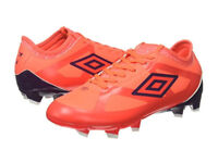 Size 11 Umbro Men's Velocita III Premier Hg Football Boots Fiery Coral Brand New Boxed