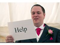 Best man or father of bride speech writing support - speech prepared with personal touches.