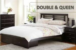 Brand New Wooden Bed Frame – Single/Double/Queen/King Virginia Brisbane North East Preview