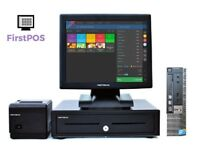 Full Touchscreen Dell Optiplex EPOS POS Cash Register Till System Retail and Hospitality Businesses