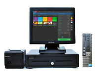 """17"""" Touchscreen Dell Optiplex EPOS POS Cash Register Till System Retail and Hospitality Businesses"""