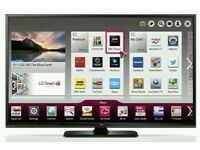 """LG 60"""" Slim FULL HD SMART 3D TV WITH BUILT IN WiFi FREEVIEW HD, HDMI NEW CONDITION FULLY WORKING"""