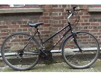 Classic dutch hybrid ladies bike HAWK hand built frame size 18 inch usefull city commuter serviced