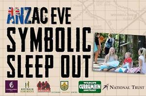 Symbolic Sleep Out ANZAC Eve Currumbin Gold Coast South Preview