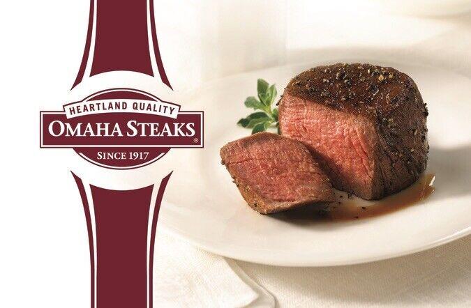 Omaha Steaks Gift Card Value $50