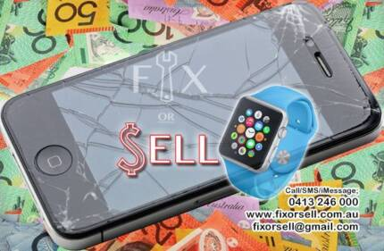  GET CASH *NOW* FOR YOUR BROKEN/PERFECT IPHONE-APPLE WATCH-IPAD West Perth Perth City Preview