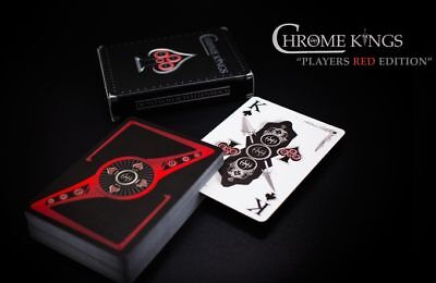 Chrome Kings Players Edition (Red) New sealed deck..MAKE OFFER..Rare Limited Ed.