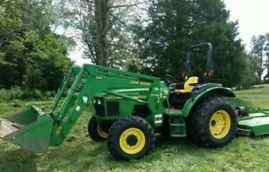5420 4WD Tractor With Loader and Backhoe