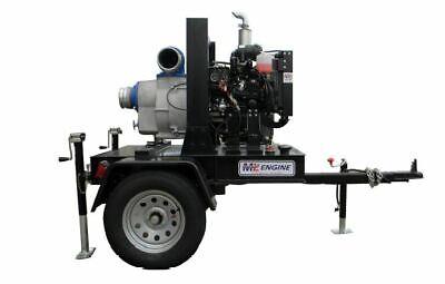 6 Yanmar Diesel Heavy Duty Wet Prime Trash Pump