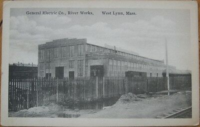 1923 PC: 'General Electric River Works - West Lynn, MA'