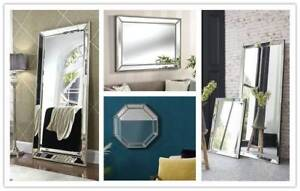 MIRRORS MIRRORS LARGE RECTANGLE WALL FRAME