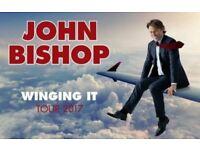 2 x John Bishop tickets