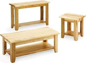 Handcrafted Solid Wood Living Room Furniture Coffee Tables End Tables Sofa Tables FREE SHIPPING