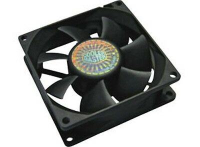 Cooler Master Rifle Bearing 80mm Silent Cooling Fan for Computer Cases/Coolers
