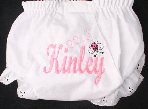 Personalized Monogrammed Diaper Cover Bloomers Graphics