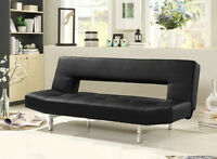 Black or White Unique Stylish Sofa bed with multiple back posit