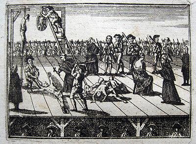 LISBOA 1758 O PROCESSO DOS TÁVORAS / LISSABON TAVORA-AFFAIRE EXEKUTION EXECUTION