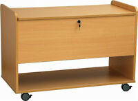 Maple Storage Cabinet with filing Drawer