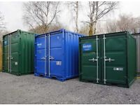 10ft/20ft Secure Steel Containers for Rent in Kirkhill Industrial Estate