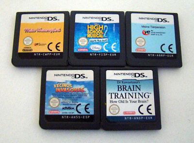 Nintendo DS Spiele Sammlung 5 Stück für Mädchen absolut
