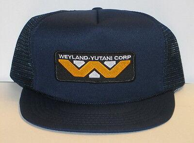 Alien Movie Weyland Yutani Corporation Logo Patch Baseball Style Hat  New Unused