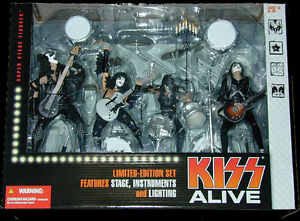 KISS Alive McFarlane Figures Box Set NEW MINT SEALED