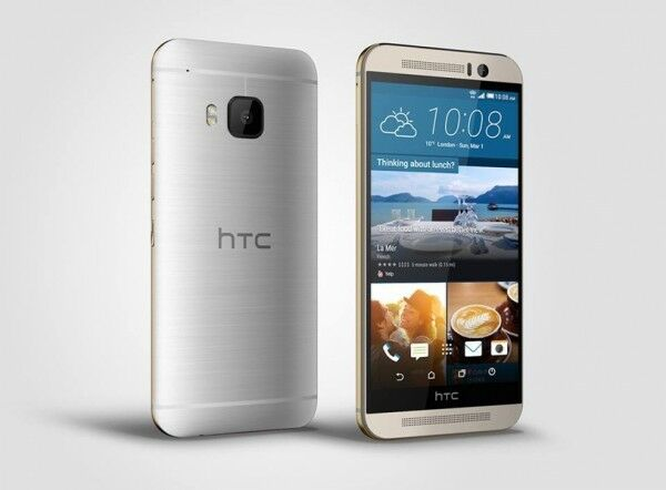 Htc One - HTC One M9 - 32GB/3GB - Gold on Silver (AT&T) Smartphone