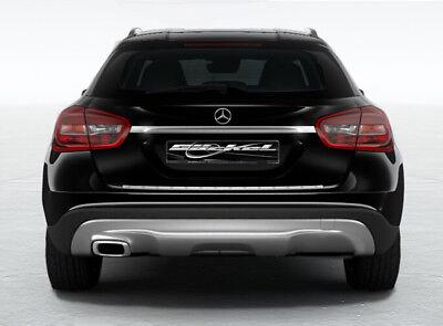 Mercedes Benz GLA X156 Heckblende Sport-Endrohrsysteme für Serienstoßstange