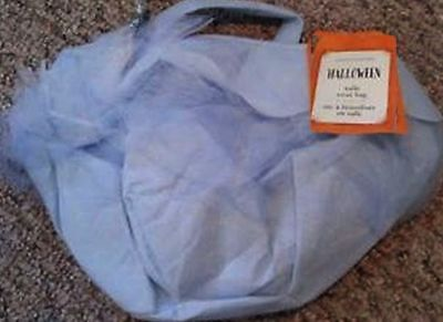 NWT POTTERY BARN KID BLUE PRINCESS QUEEN TULLE TREAT BAG FOR HALLOWEEN COSTUME