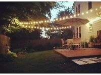 Decoration lights Rubber Cable Festoon Belt for Decoration. Ideal for garden , party, wedding ...