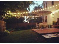 For Rent: Decoration lights Rubber Festoon Belt for Decoration. Ideal for garden, party, wedding ...