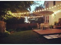 Led Lights Festoon Belt . Perfect for Christmas and party, rubber wire , warm white colour .