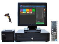 Full Touchscreen Retail/Hospitality EPOS POS Cash Register Till System (Dell Optiplex)
