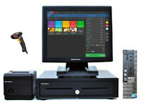 "17"" Touchscreen Retail/Hospitality EPOS POS Cash Register Till System (Dell Optiplex)"