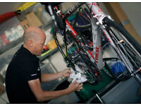Experianced Bicycle Mechanic required - London based. £24,000 + overtime