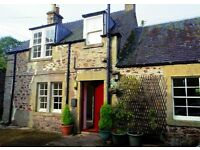 Spacious 1 bed stable conversion near Morebattle, Scottish Borders - Available now