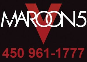 MAROON 5 : SECTIONS ROUGES !!!