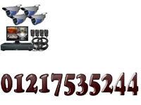 cctv camera full hd kit with phone app