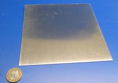 2024 Aluminum Sheet T3 .090 Thick X 6.0 Width X 6.0 Length