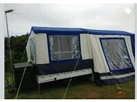 Sunn camp trailer tent
