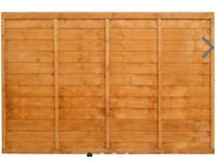 FENCE PANEL 6 X3 AS NEW NEVER USED,