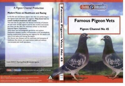 Famous Pigeon Vets Racing Pigeon Dvd