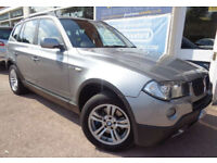 BMW X3 2.0d 2007 4x4 SE Good Miles 86k S/H Finance Available p/x
