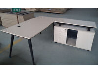 Office Furniture for Sale-Desk, Meeting Table & Cabinets