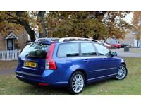 VOLVO V50 LUXURY 2.0DIESEL MANUAL 57PLATE ESTATE FULL HISTORY LONG MOT NEW TYRES IMMACULATE
