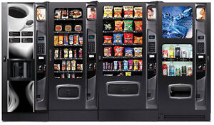 Vending Equipment for coffee, food, drinks and Micro Markets