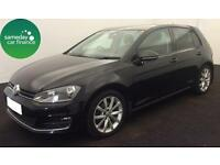 £254.89 PER MONTH BLACK 2013 VW Golf 2.0 TDI GT 5 DOOR DIESEL MANUAL *WITH NAV*