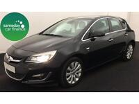 £162.64 PER MONTH BLACK 2013 VAUXHALL ASTRA 2.0 ECOFLEX ELITE 5 DR DIESEL MANUAL